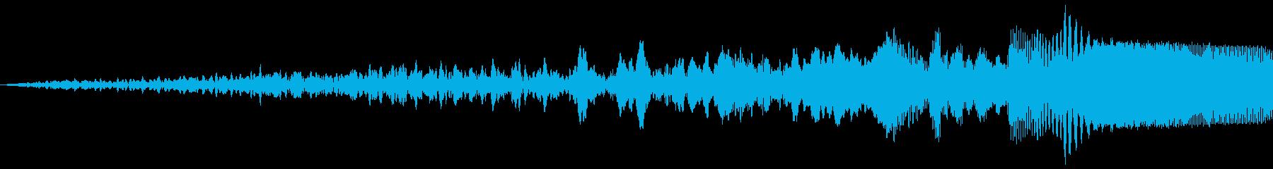 SFテキストフェードインファーストの再生済みの波形