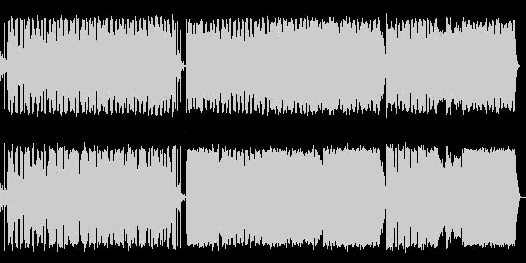 柔らかな幻想的サウンドの未再生の波形