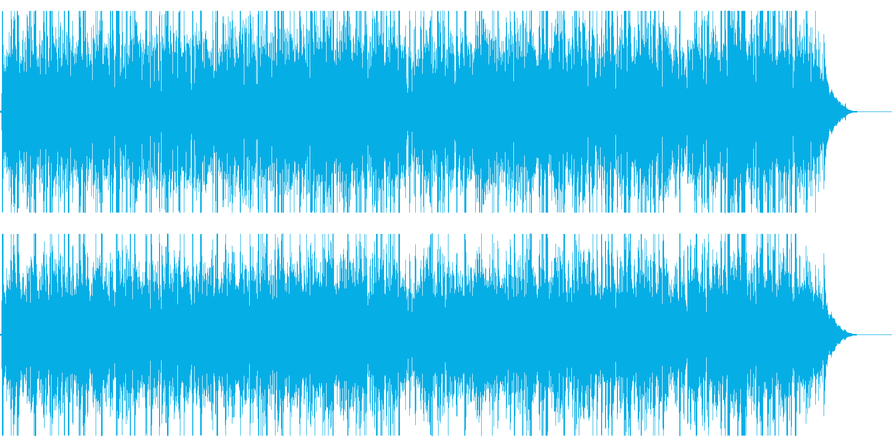 プロ生演奏アイリッシュケルトバイオリンの再生済みの波形
