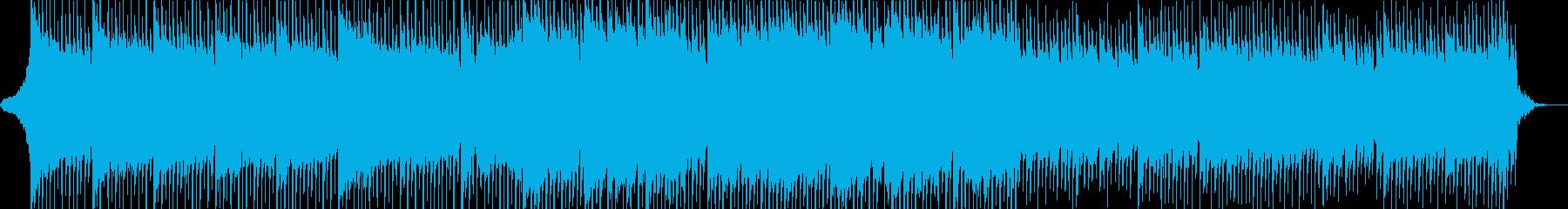 海外ドラマの挿入曲の様なBGMの再生済みの波形