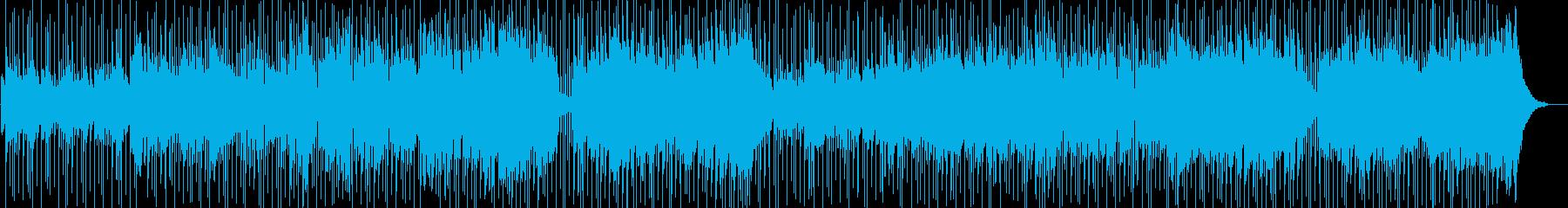 人生の回顧録をイメージしたカントリーの再生済みの波形