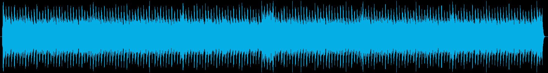 楽しい感じでノリ良いBGMの再生済みの波形