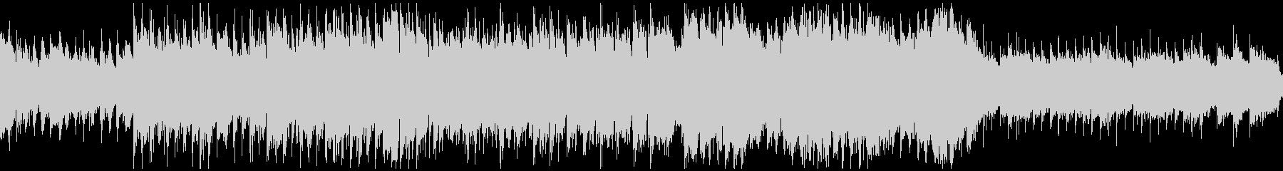 シネマティック造語BGMテンポ遅・ループの未再生の波形
