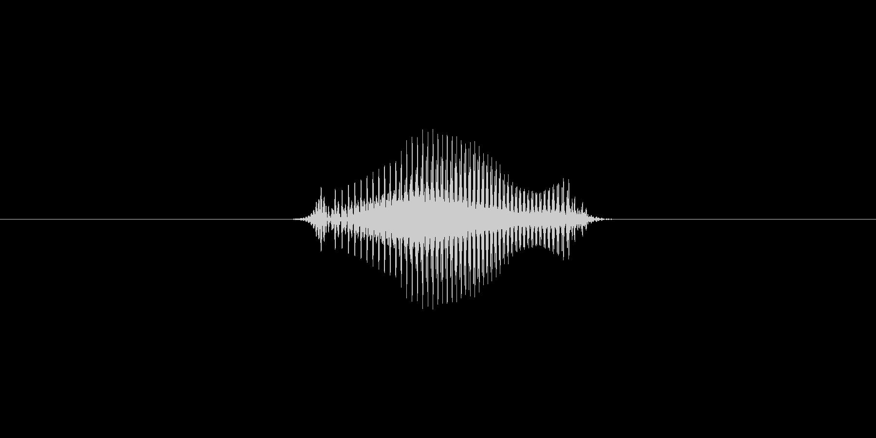 2(数字、女性)の未再生の波形