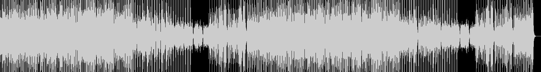 おしゃれで雰囲気の良いBGMの未再生の波形