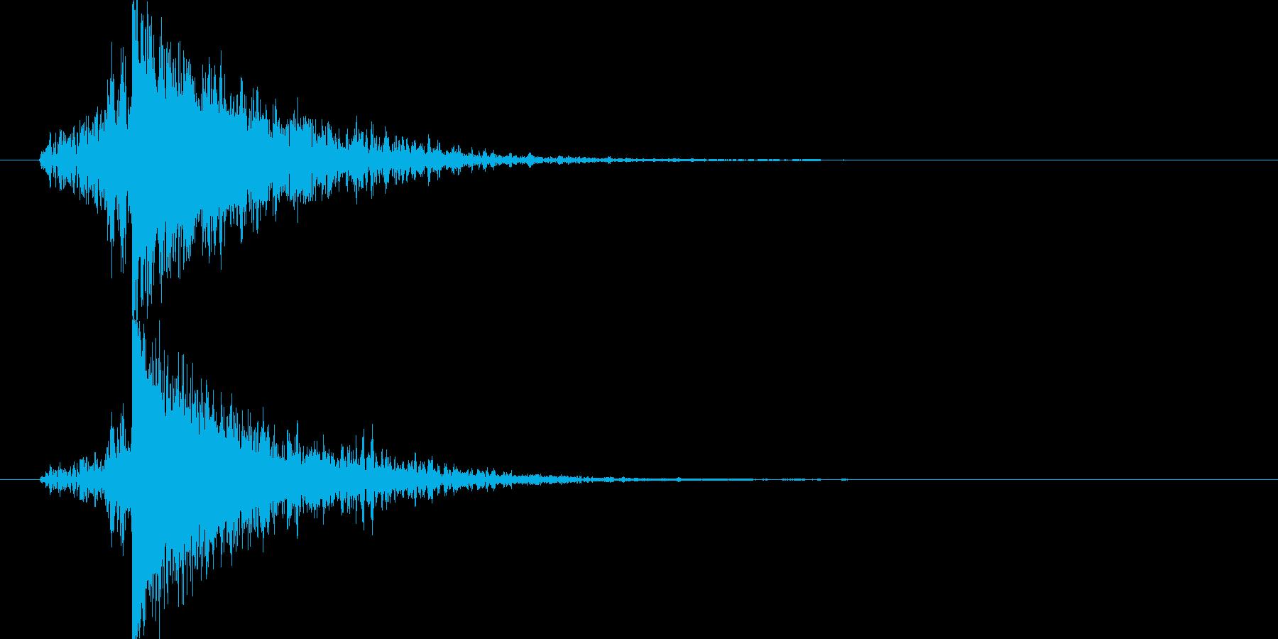 映画告知音136 ドーンの再生済みの波形