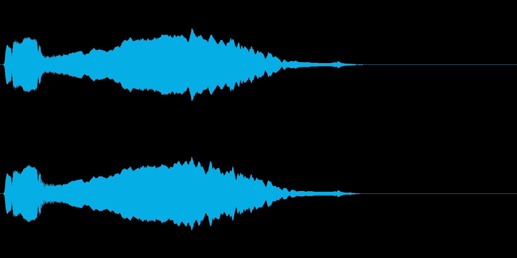尺八 生演奏 古典風 残響音有 #2の再生済みの波形
