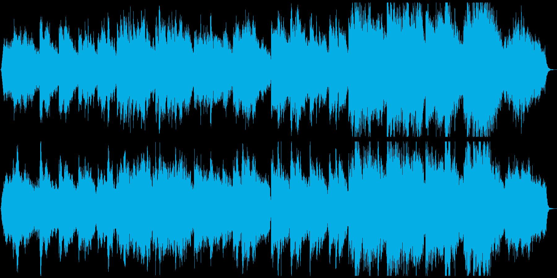 アコギとオーケストラの《きよしこの夜》の再生済みの波形
