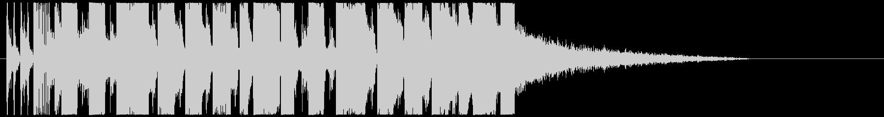 ベースがかっこいいEDM TIKTOKの未再生の波形
