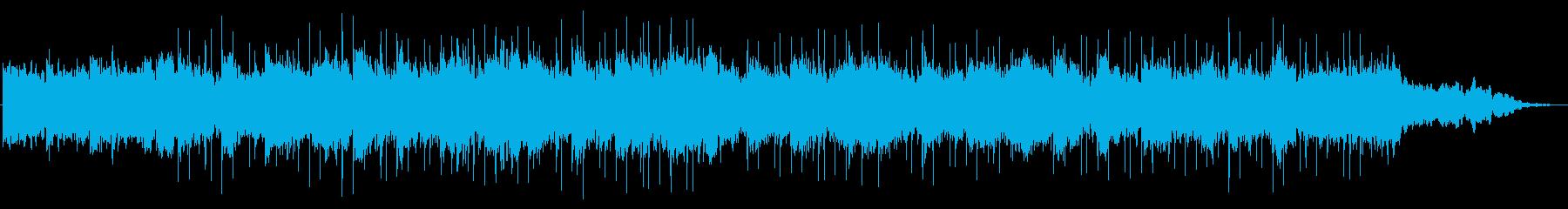 【LOFI HIPHOP】ミステリアスの再生済みの波形