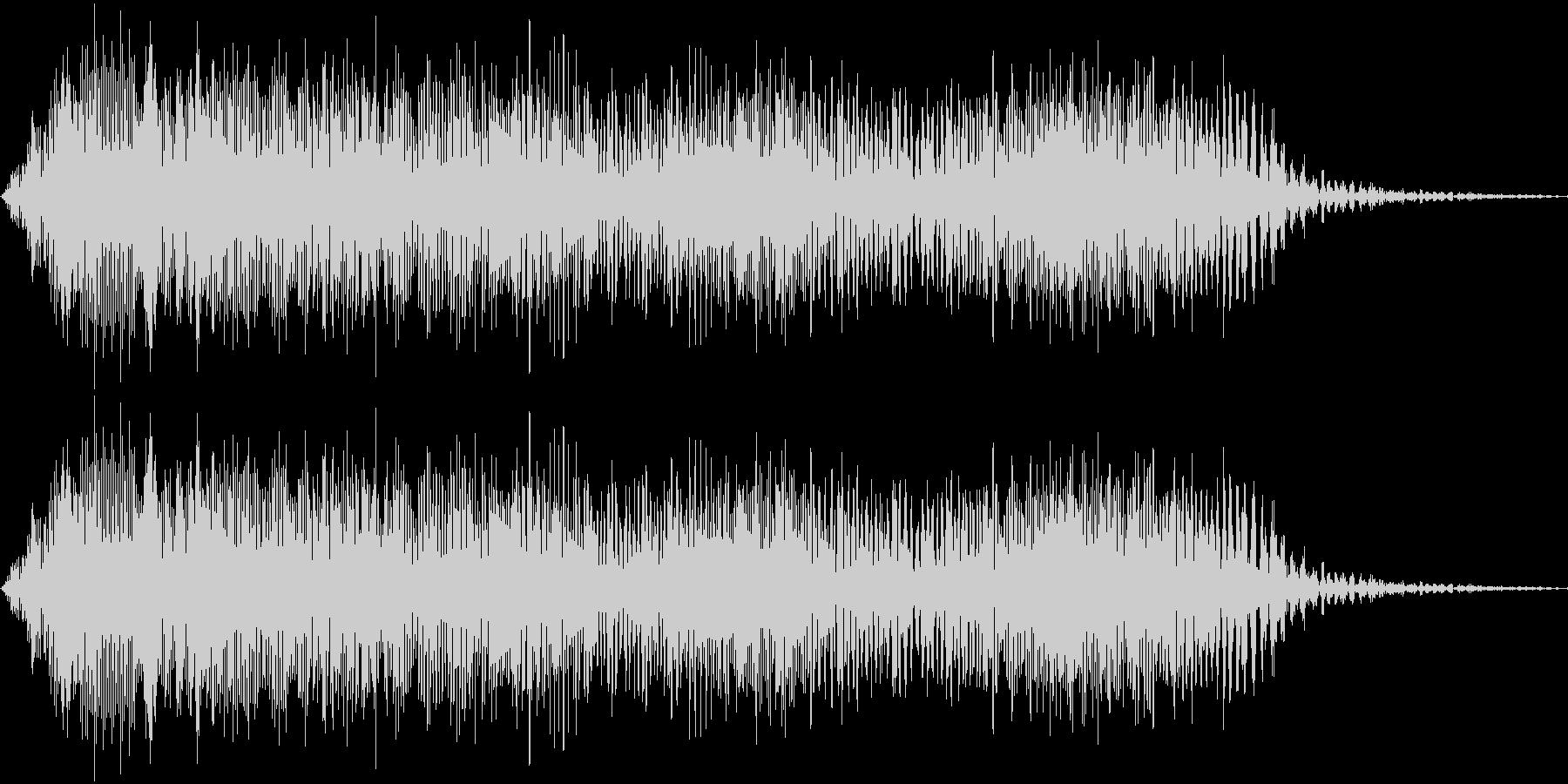 ヒュィィーン(下降)_コミカルな失敗音の未再生の波形