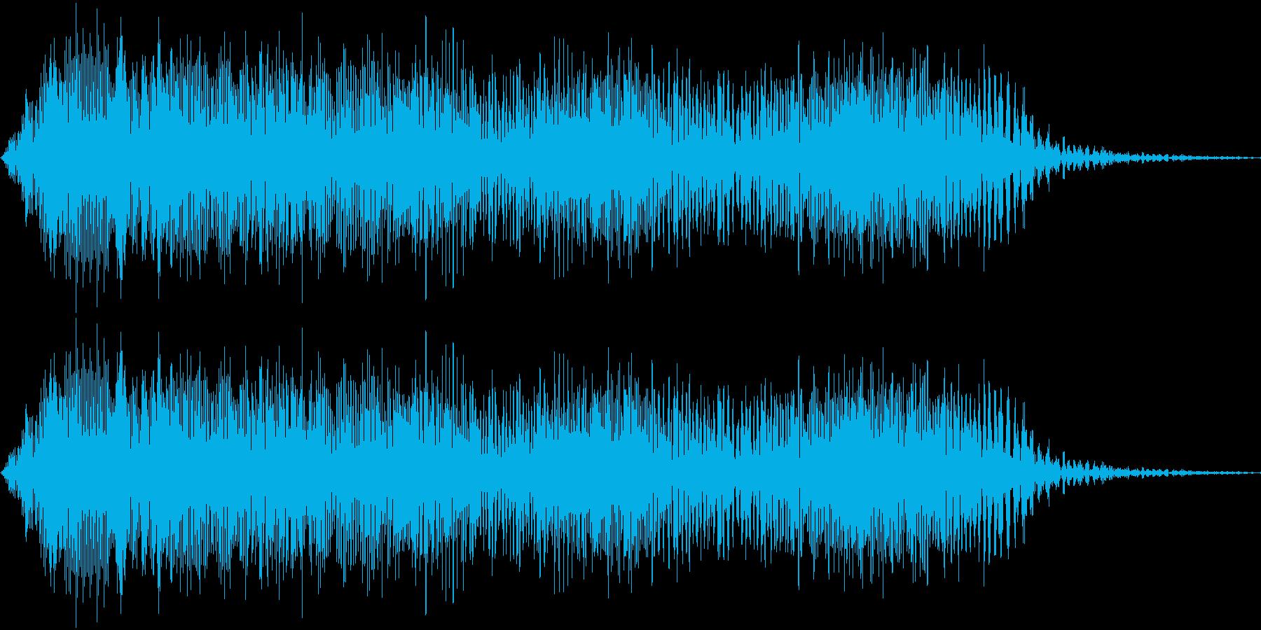 ヒュィィーン(下降)_コミカルな失敗音の再生済みの波形