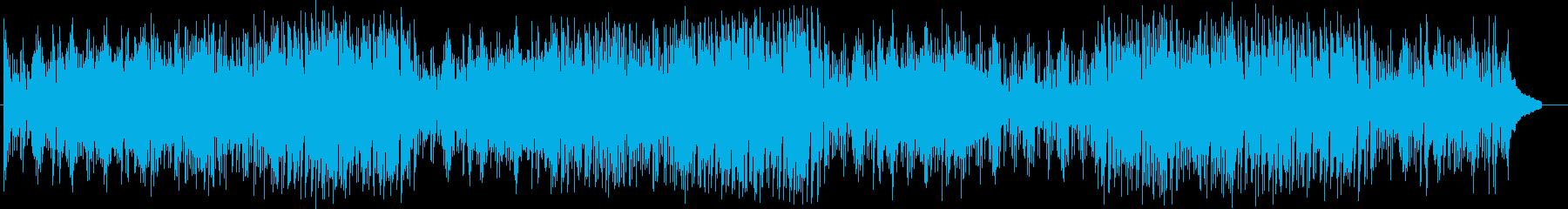 ドキドキ感とおしゃれなシンセサウンドの再生済みの波形