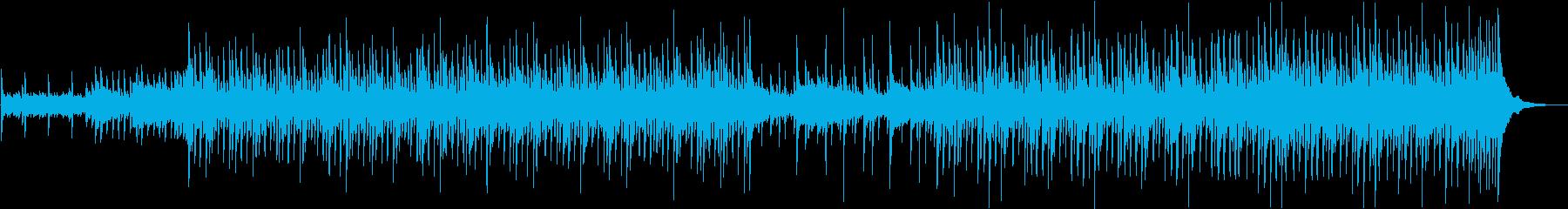 気持ちの上がる優しいカントリー風音楽の再生済みの波形