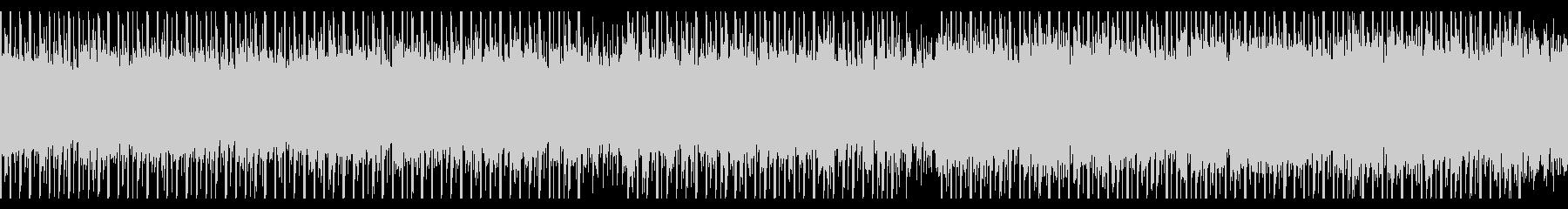 志望(ループ)の未再生の波形