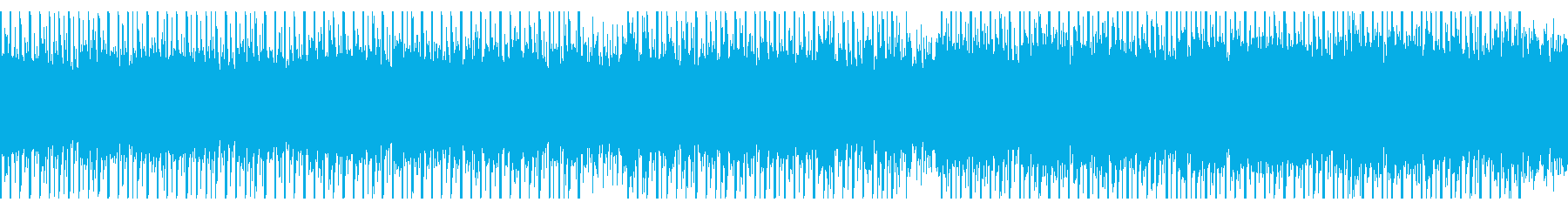 志望(ループ)の再生済みの波形