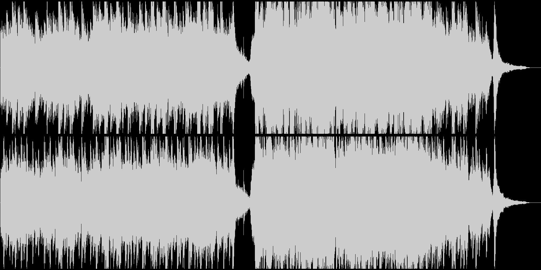 エモーショナルなピアノ幻想曲の未再生の波形
