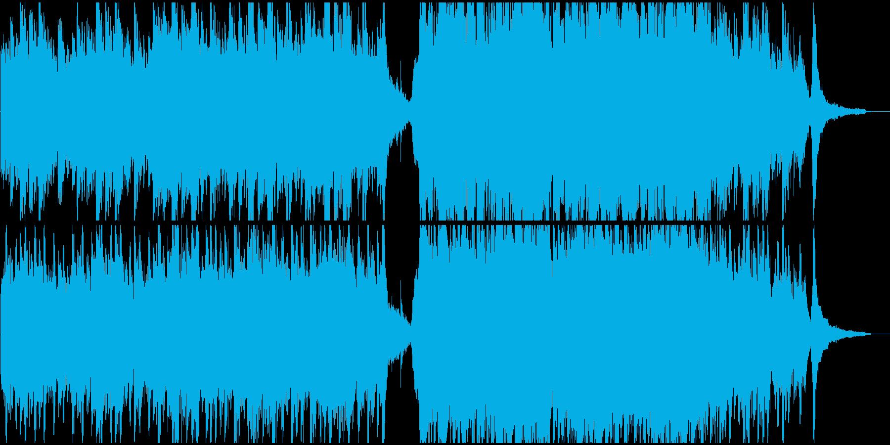 エモーショナルなピアノ幻想曲の再生済みの波形