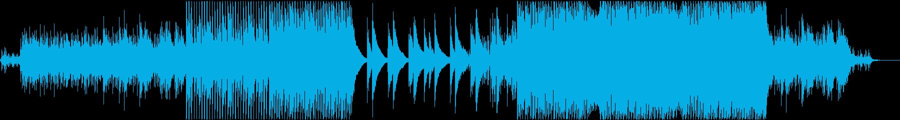 ポップ テクノ ロック アクティブ...の再生済みの波形