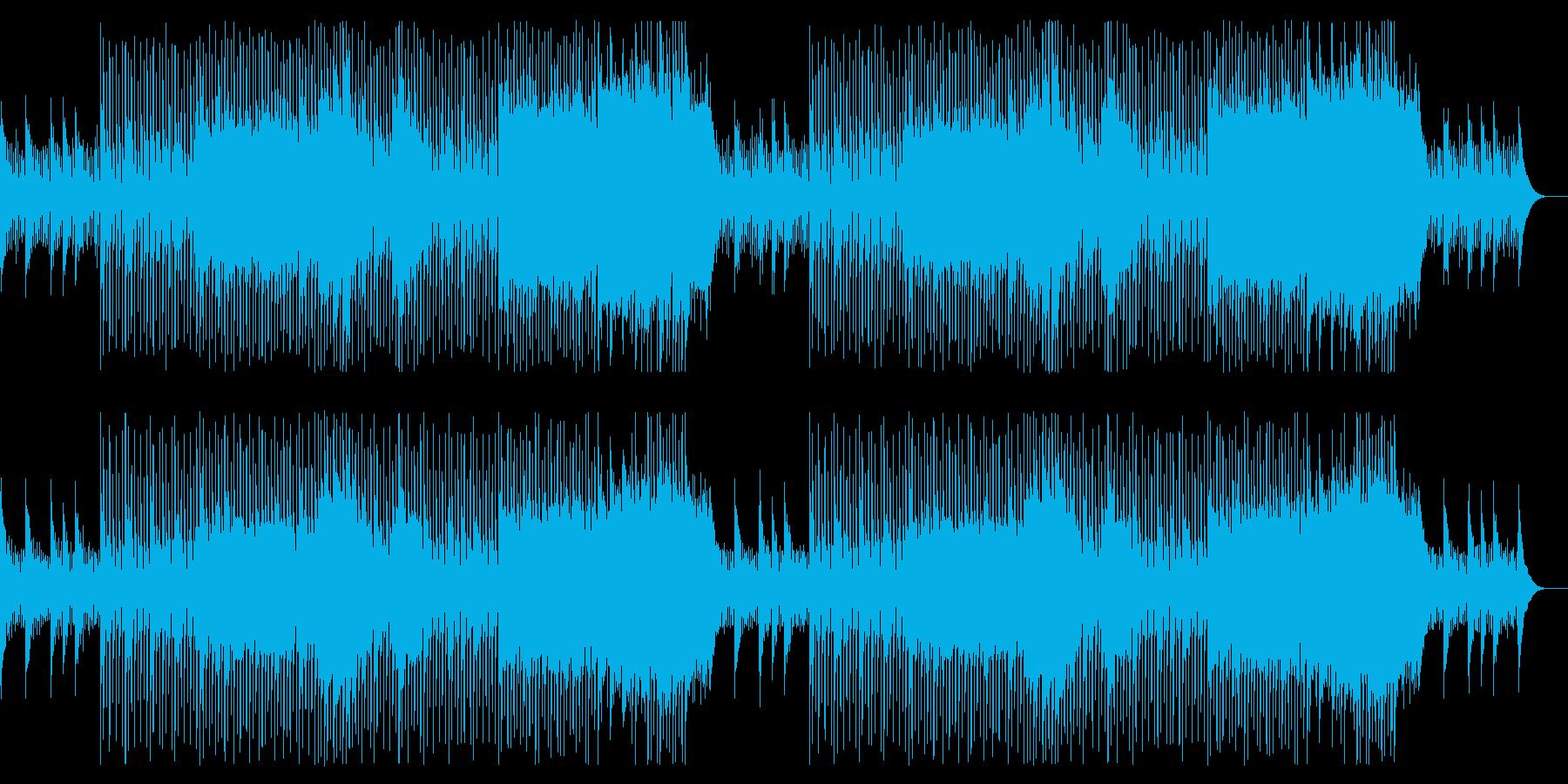 ポジティブで軽快/希望に満ちた曲_3の再生済みの波形