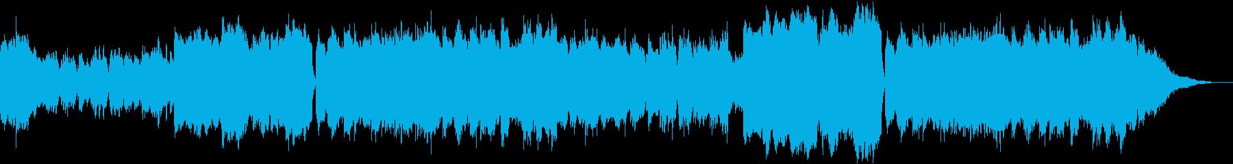 広大な草原をイメージした曲の再生済みの波形