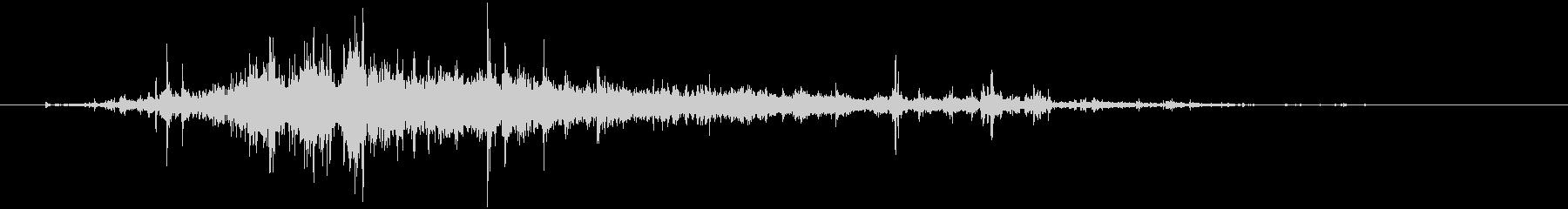 【環境音】 35 水音の未再生の波形