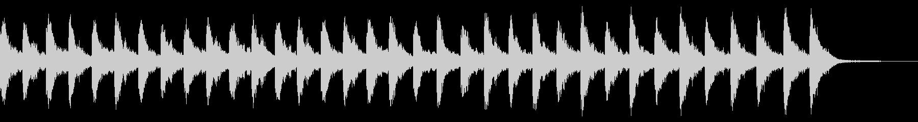 メルトンチャーチベル1:常時鳴るの未再生の波形