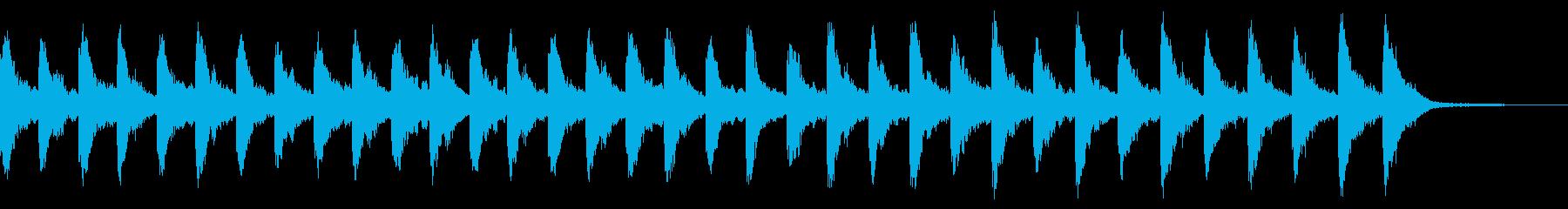 メルトンチャーチベル1:常時鳴るの再生済みの波形