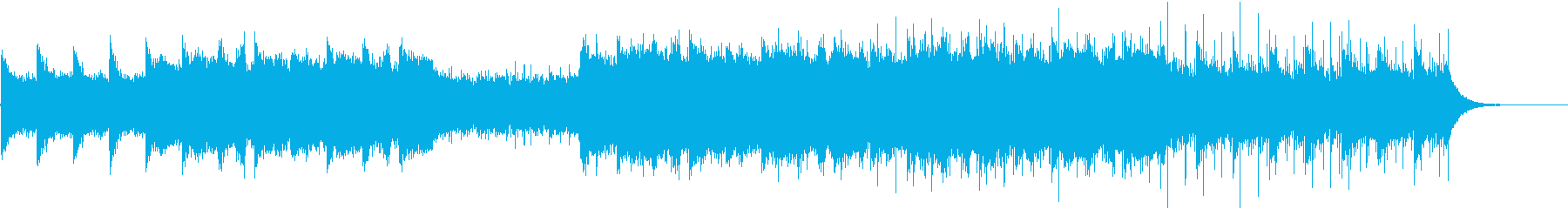 エレガントで幻想的なBGMの再生済みの波形