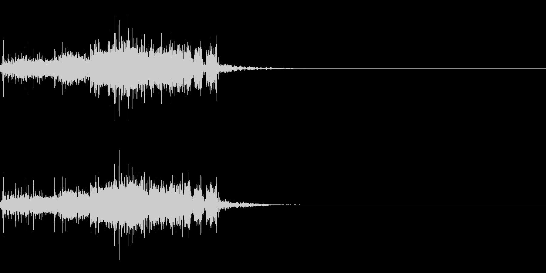 スパーク音-19の未再生の波形