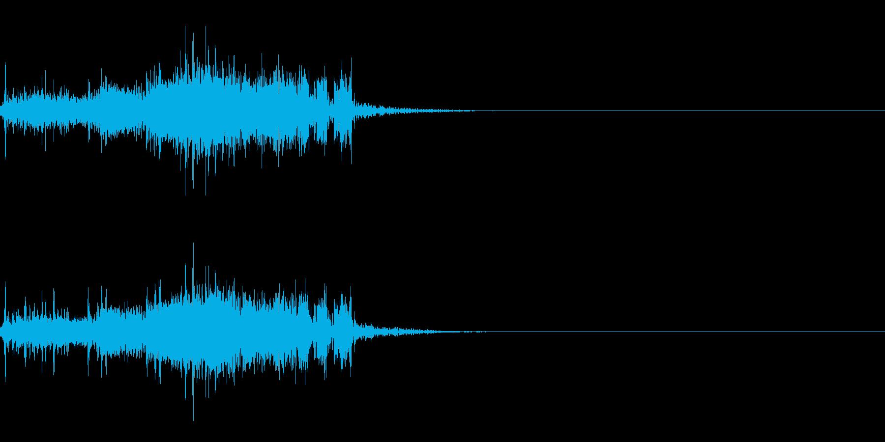 スパーク音-19の再生済みの波形