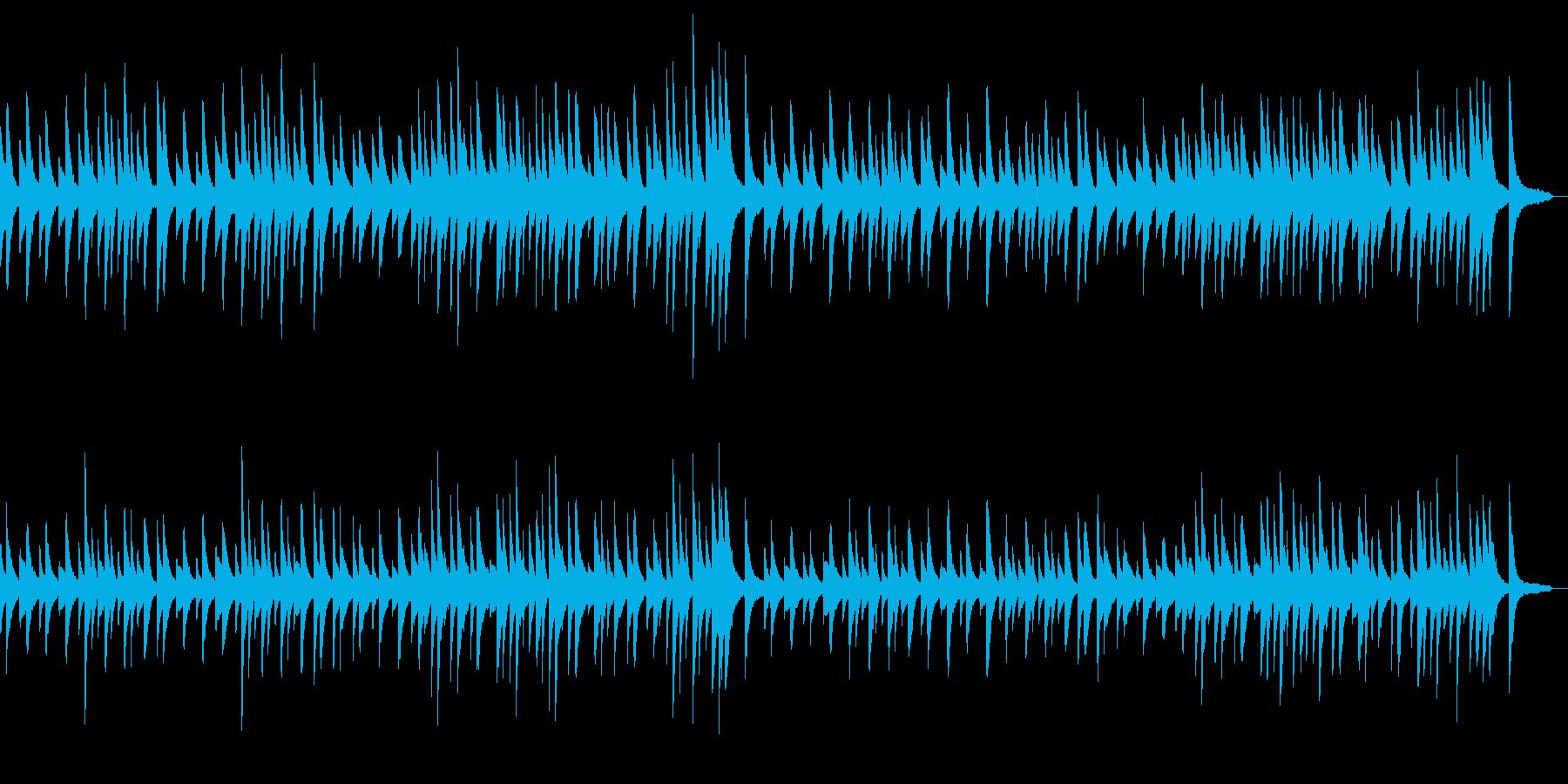 サティ ジムノペディ 第1番の再生済みの波形