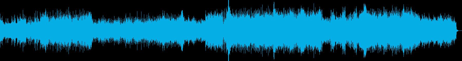 シティプロモーション系BGMの再生済みの波形