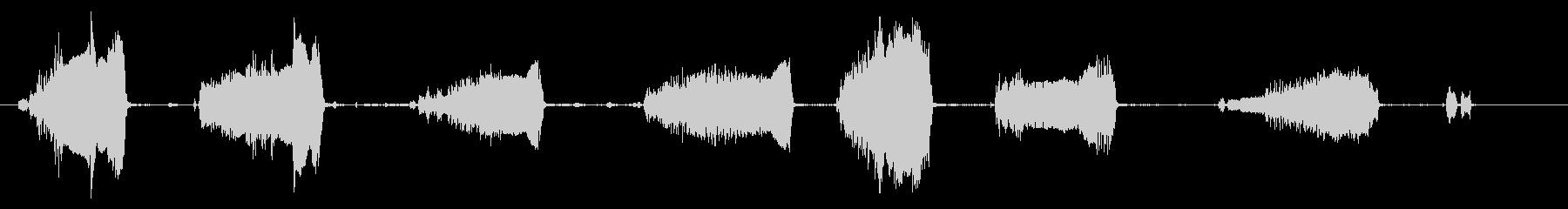 鶏小屋:内線:鶏のささやき、怖がっ...の未再生の波形