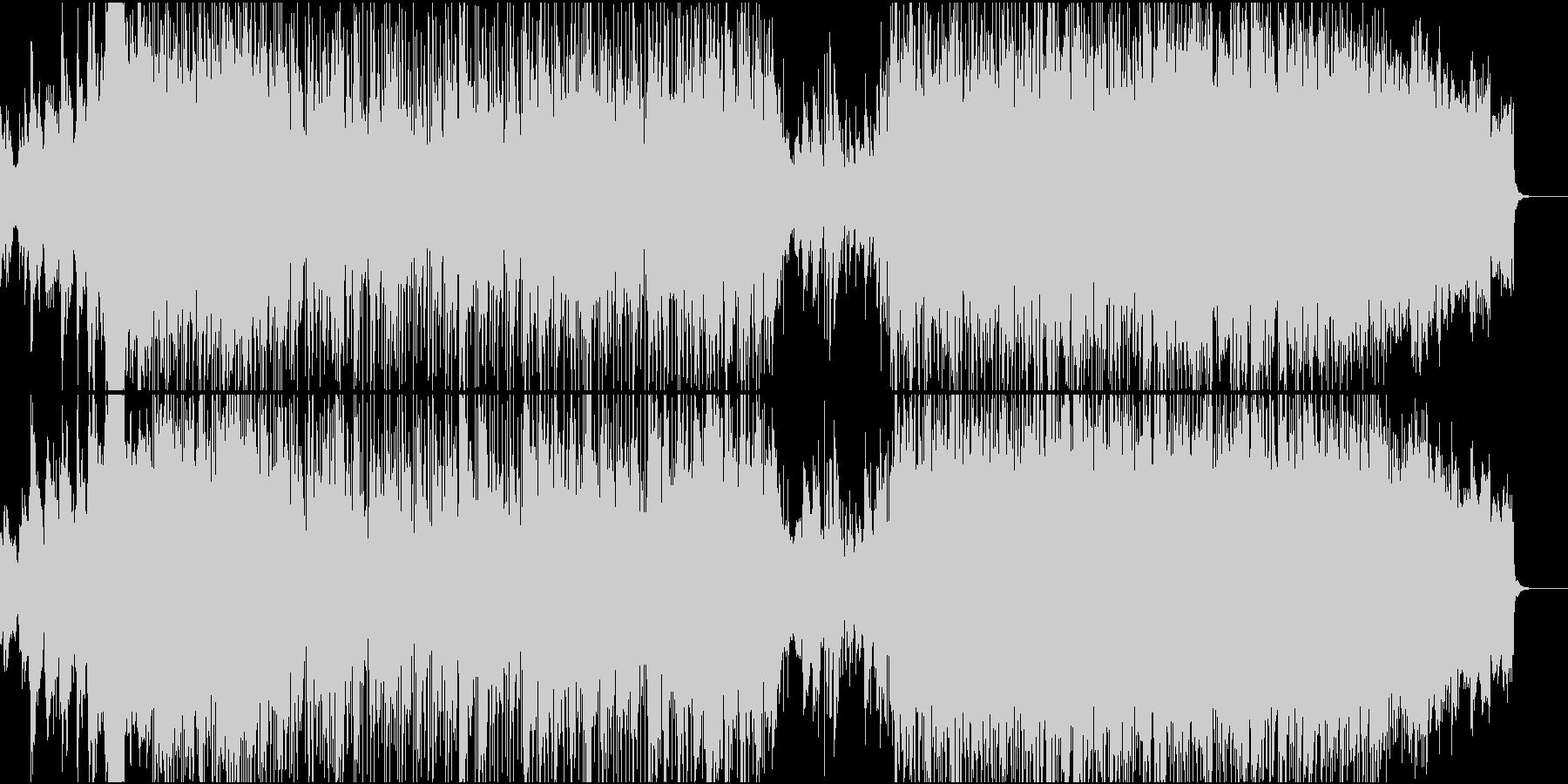 【生演奏】霧の森の中ような弦楽器バンド曲の未再生の波形