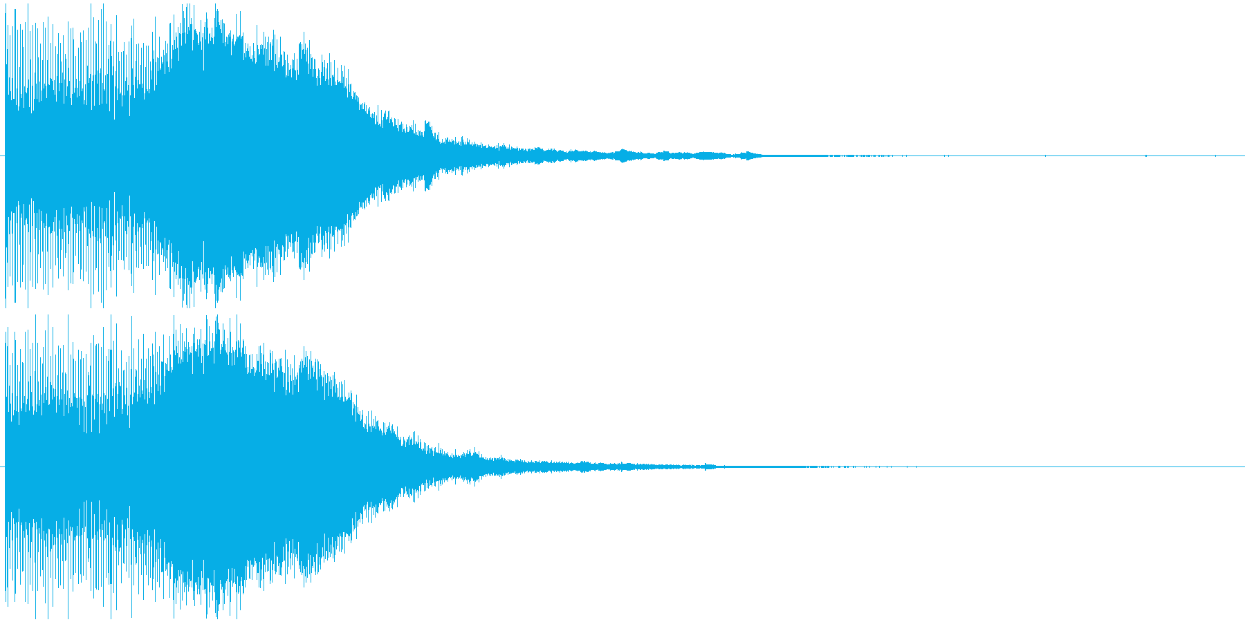 スタイリッシュ・洗練アイキャッチジングルの再生済みの波形