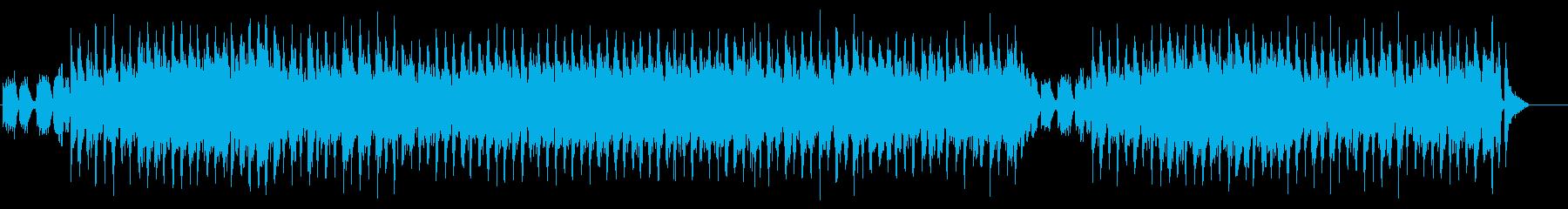 ナチュラルテイストのハイライフイメージの再生済みの波形