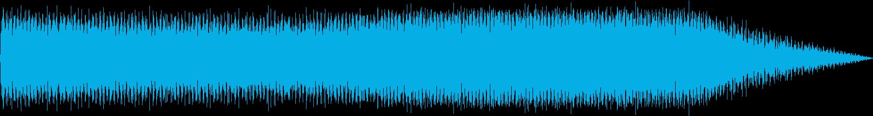 迅速なパルスシンセテクスチャの再生済みの波形