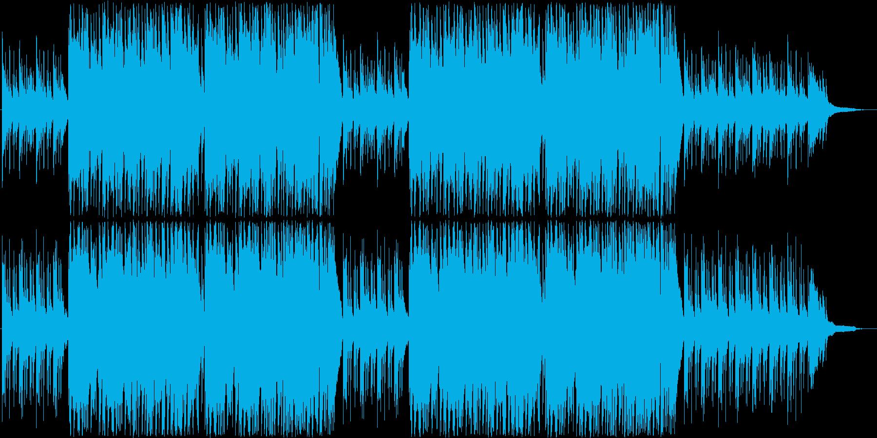 ピアノが心地よいほのぼの青春日常BGMの再生済みの波形