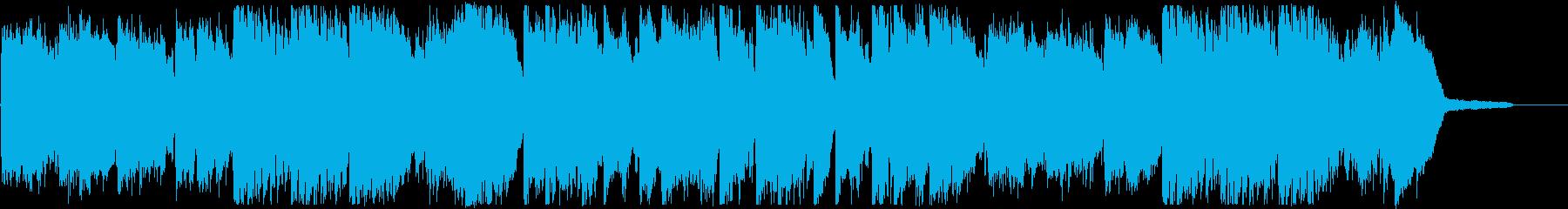 オープニング・優しい洋楽ポップスの再生済みの波形