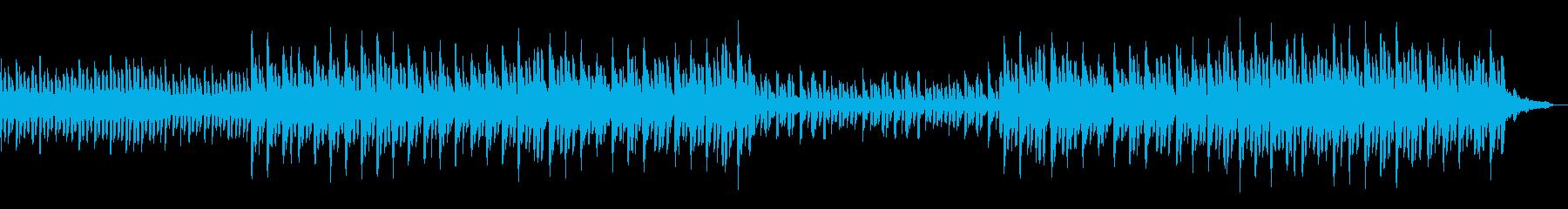 【60秒】かわいい感じのゆるやかテクノの再生済みの波形