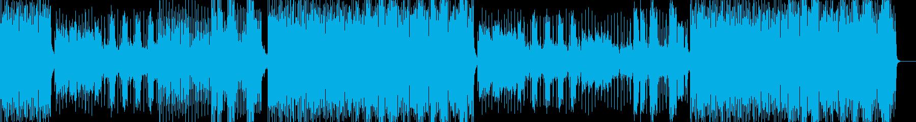 英語女性ボーカル爽やかなハウス風POPSの再生済みの波形