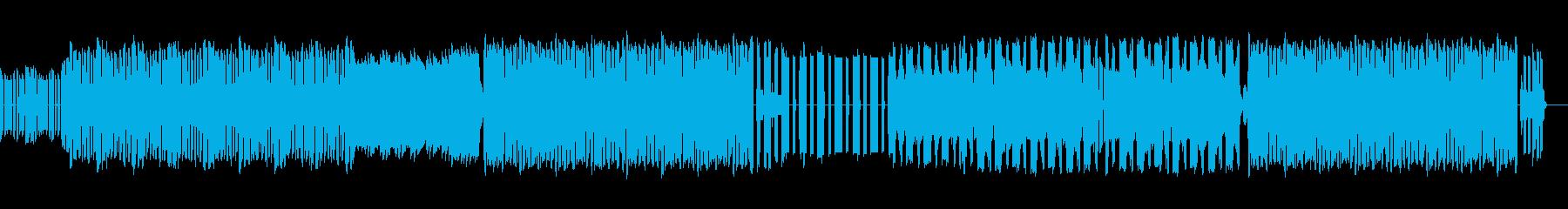 ファミコン音源によるノリの良い曲です。の再生済みの波形