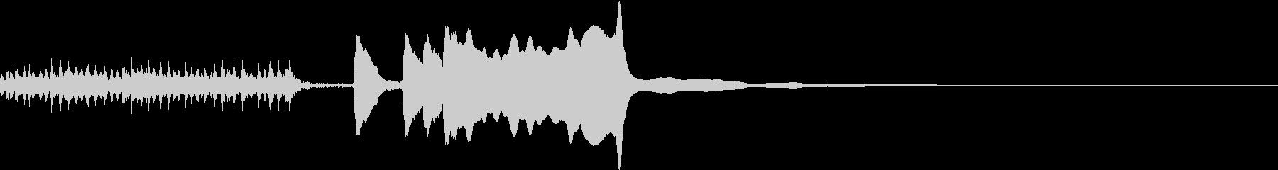 結果発表2/ドラムロール→タンタタターンの未再生の波形