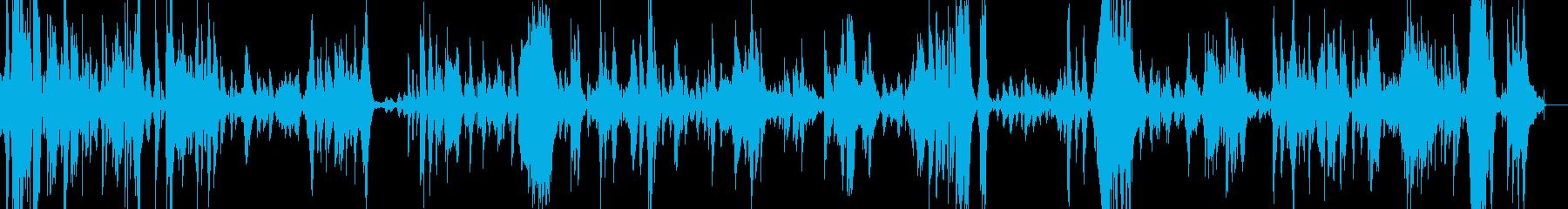 夢の欠片をイメージしたピアノソロの再生済みの波形