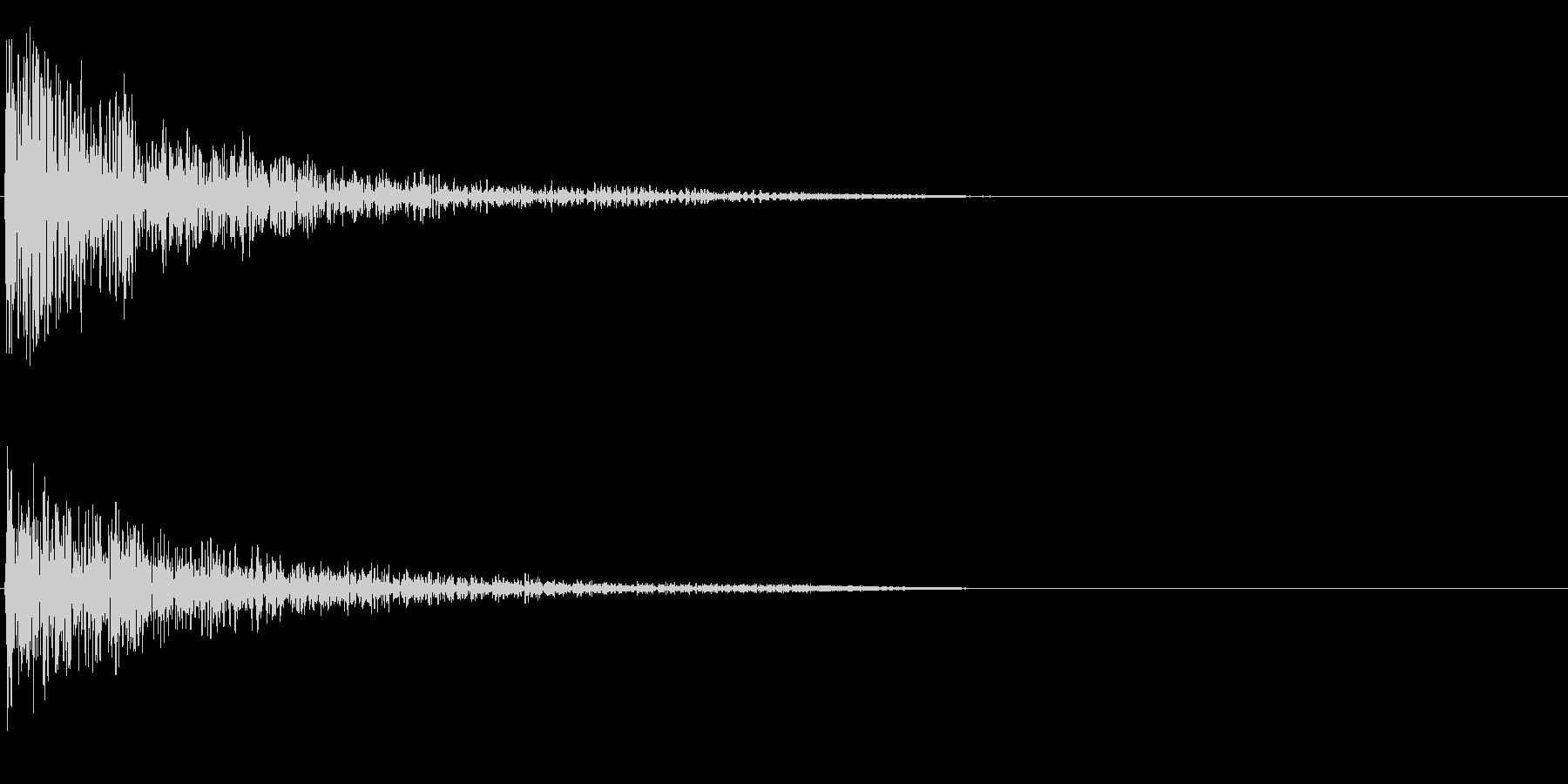 スコーンの未再生の波形