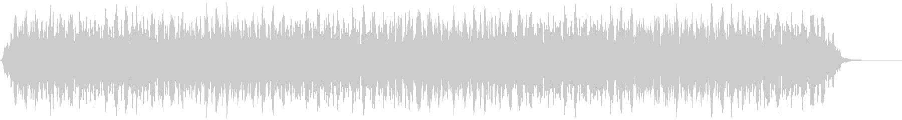 【アンビエント】ドローン_26 実験音の未再生の波形