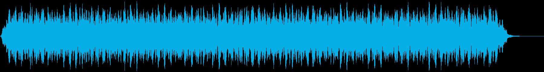 【アンビエント】ドローン_26 実験音の再生済みの波形