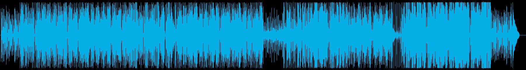 ピアノとトロンボーンのほっこりお散歩の再生済みの波形
