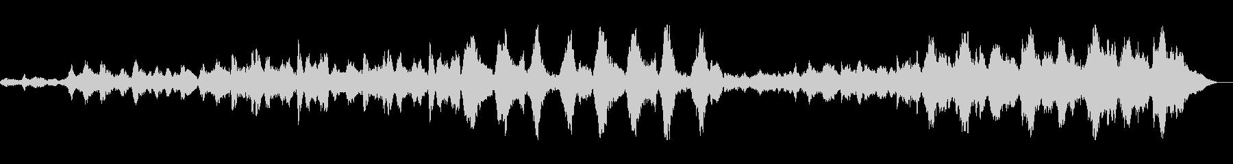 バイオリン等を使用したアンビエントの未再生の波形